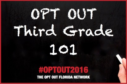 Opt Out 3rd gr 101