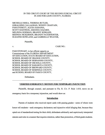 Emergency Motion Temporary Injunction(final) copy
